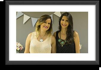 Natália Nery e Rebecca Menezes