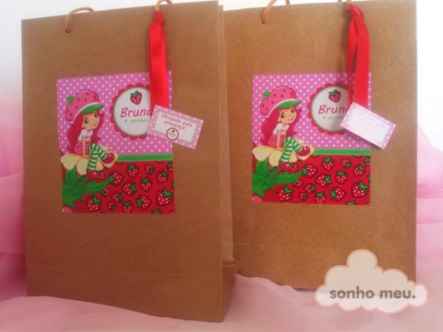 Bolsa De Papel Personalizada Casamento : Sonho meu sacola de papel personalizada
