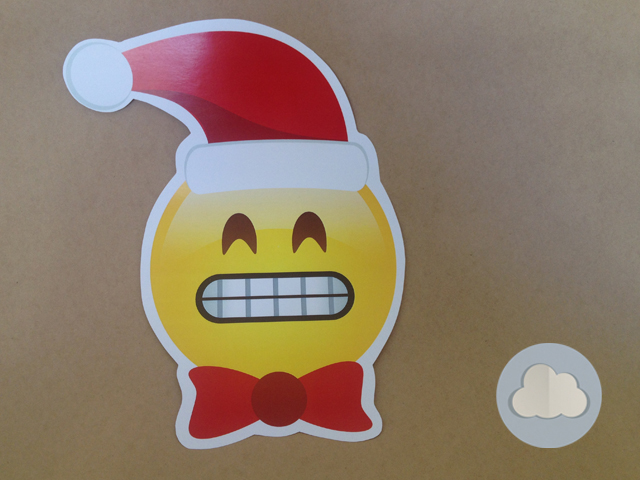 emoji com gorro