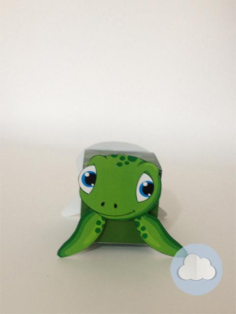 Caixinha tartaruga