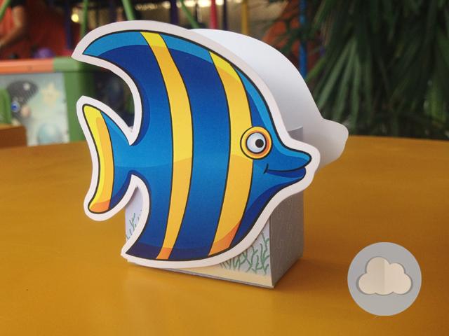 caixinha peixe